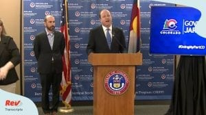 Colorado Coronavirus Press Conference April 1