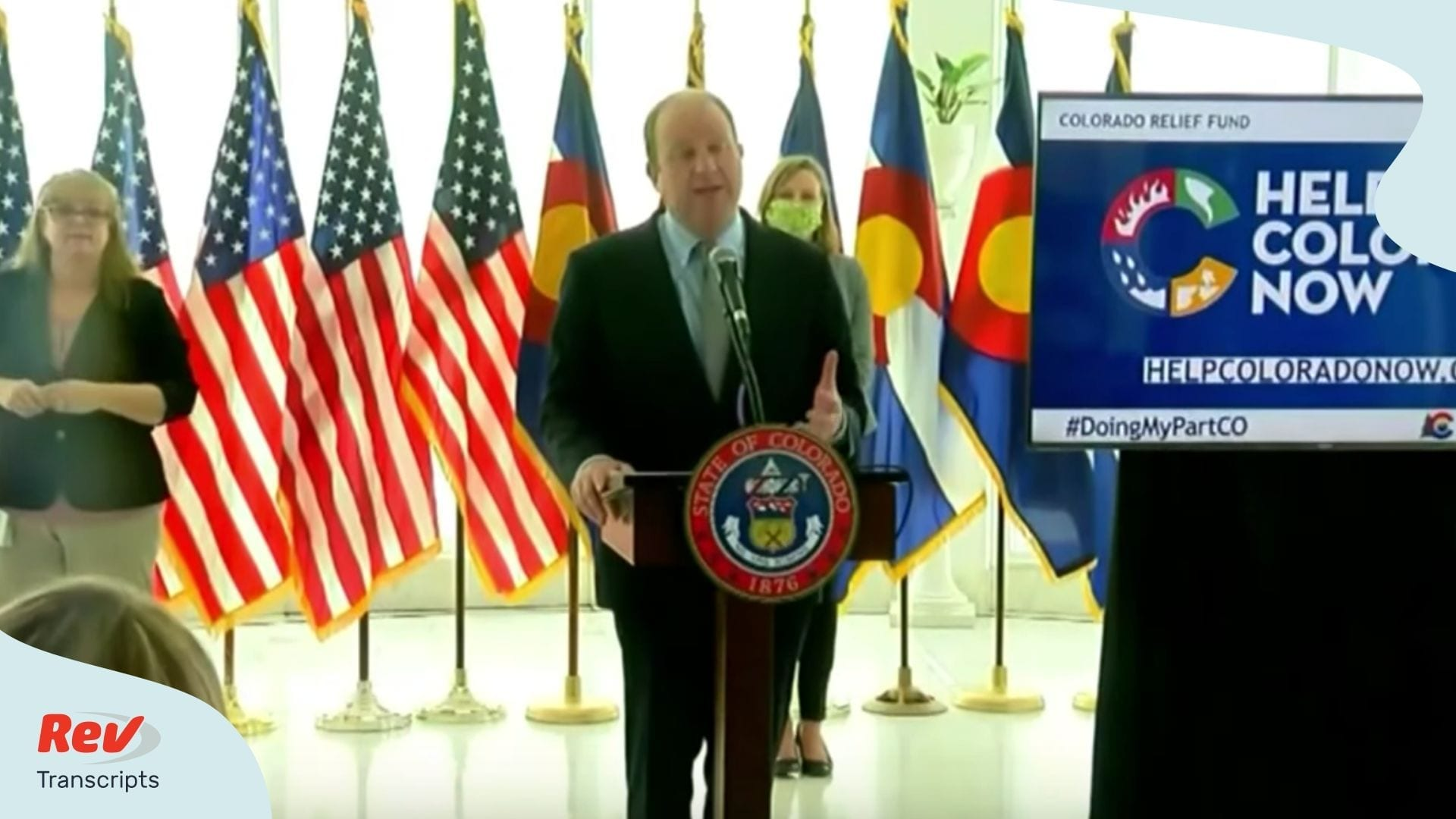 Colorado Governor Update April 8