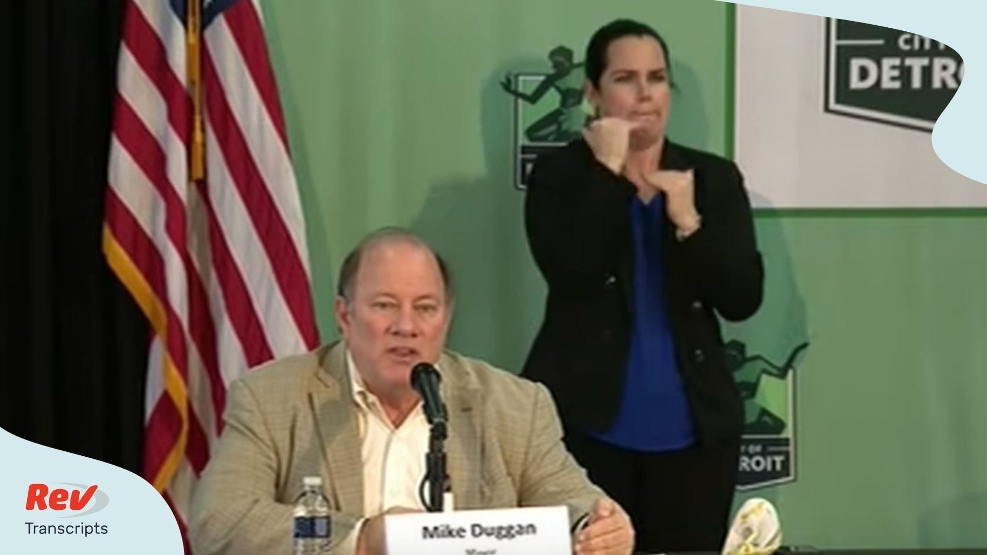 Detroit Mayor Mike Duggan April 8 Presser