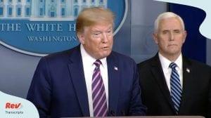 Donald Trump Coronavirus Task Force Briefing April 24