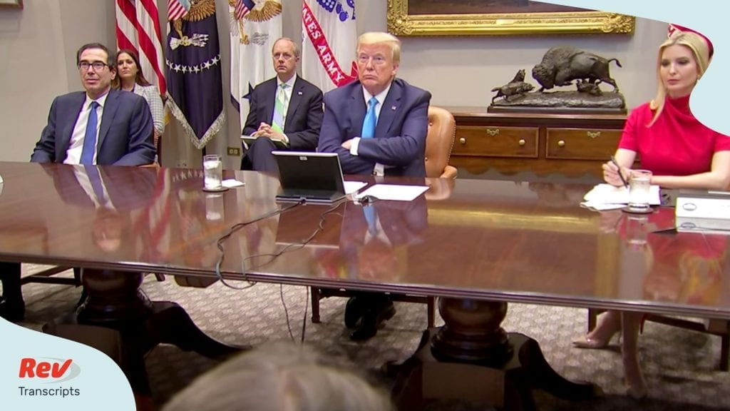 Donald Trump Meeting Small Business Relief