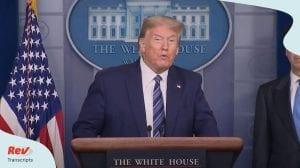 Donalds Trump Coronavirus Press Conference April 21