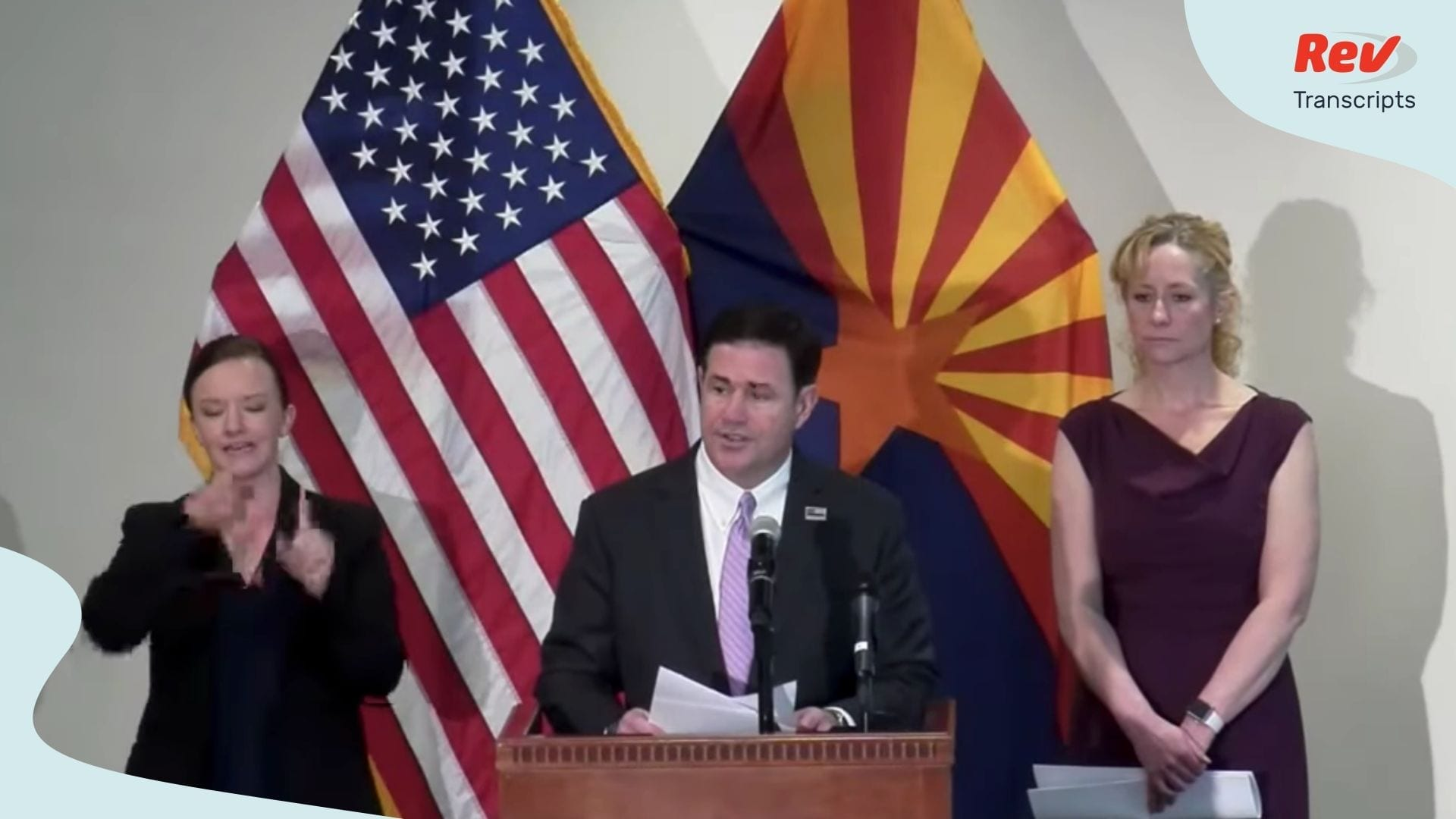 Doug Ducey Arizona Coronavirus Briefing