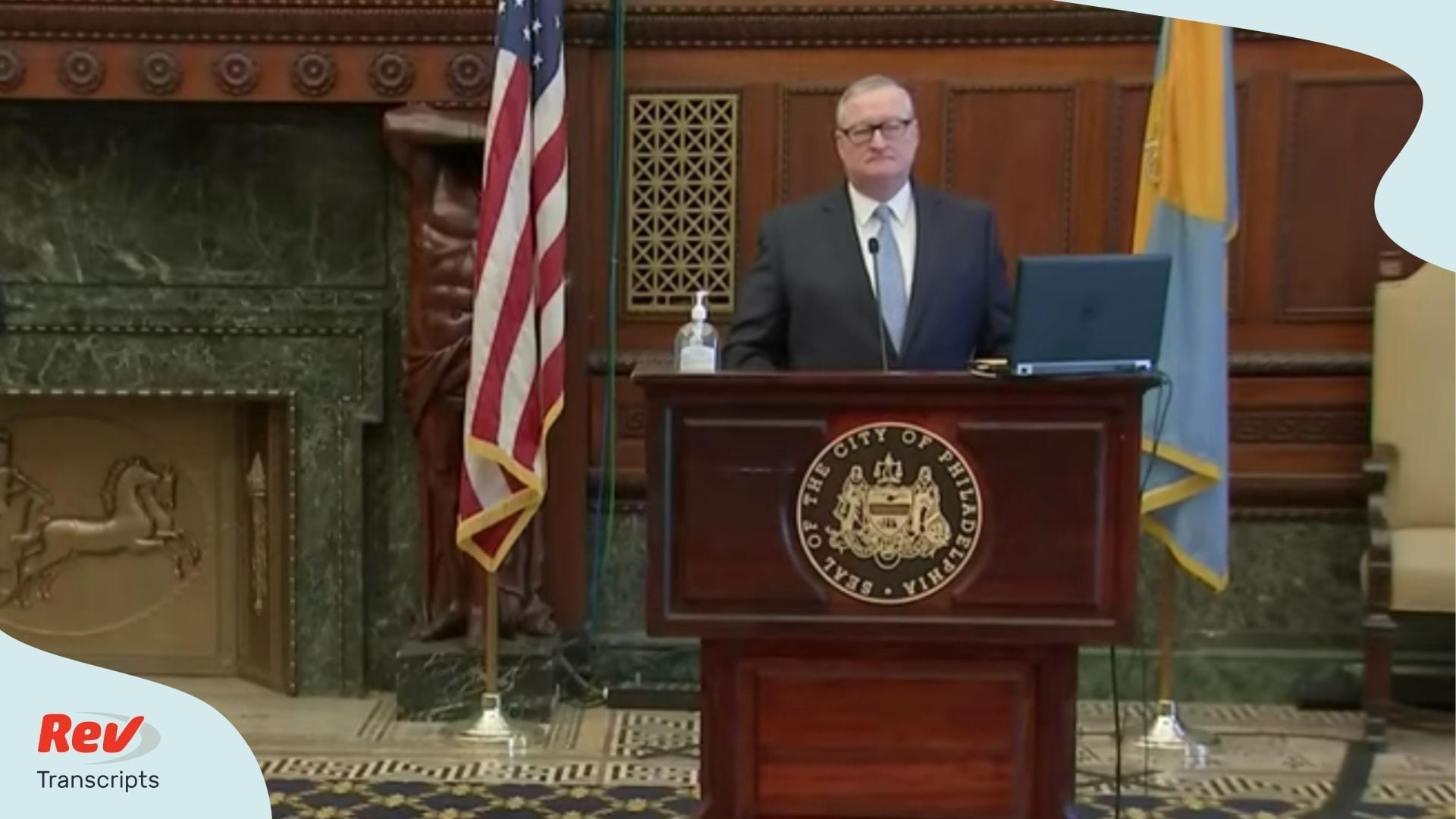 Philadelphia Mayor Briefing April 6