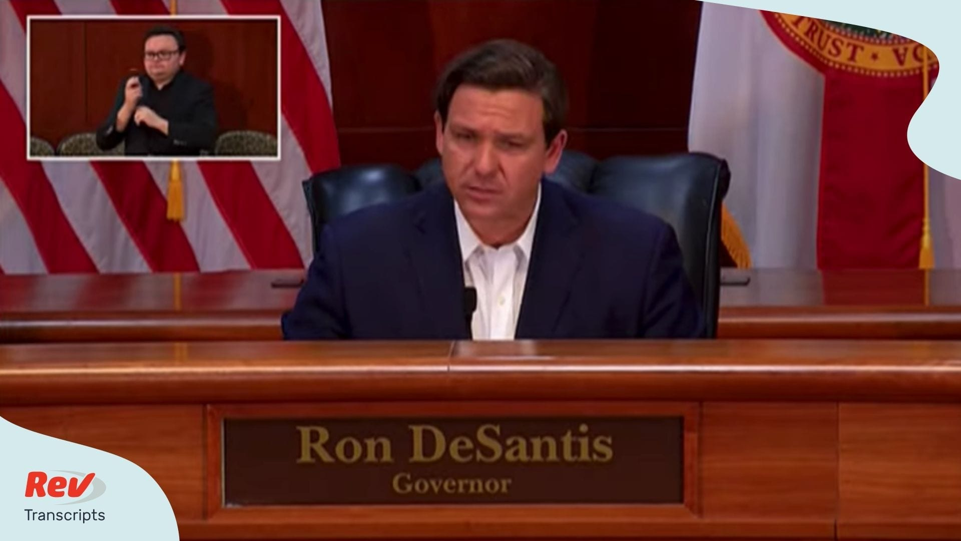 Florida Governor Ron DeSantis April 2