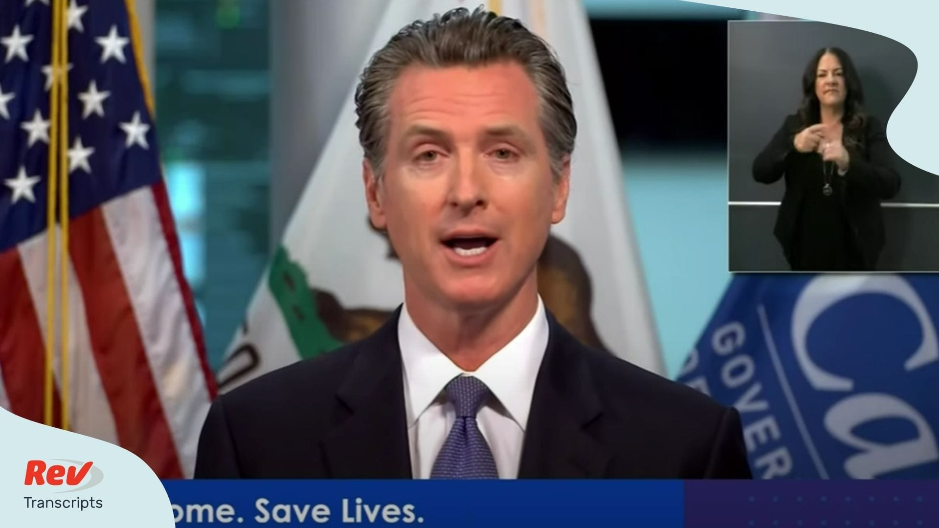 Gavin Newsom April 23 Briefing