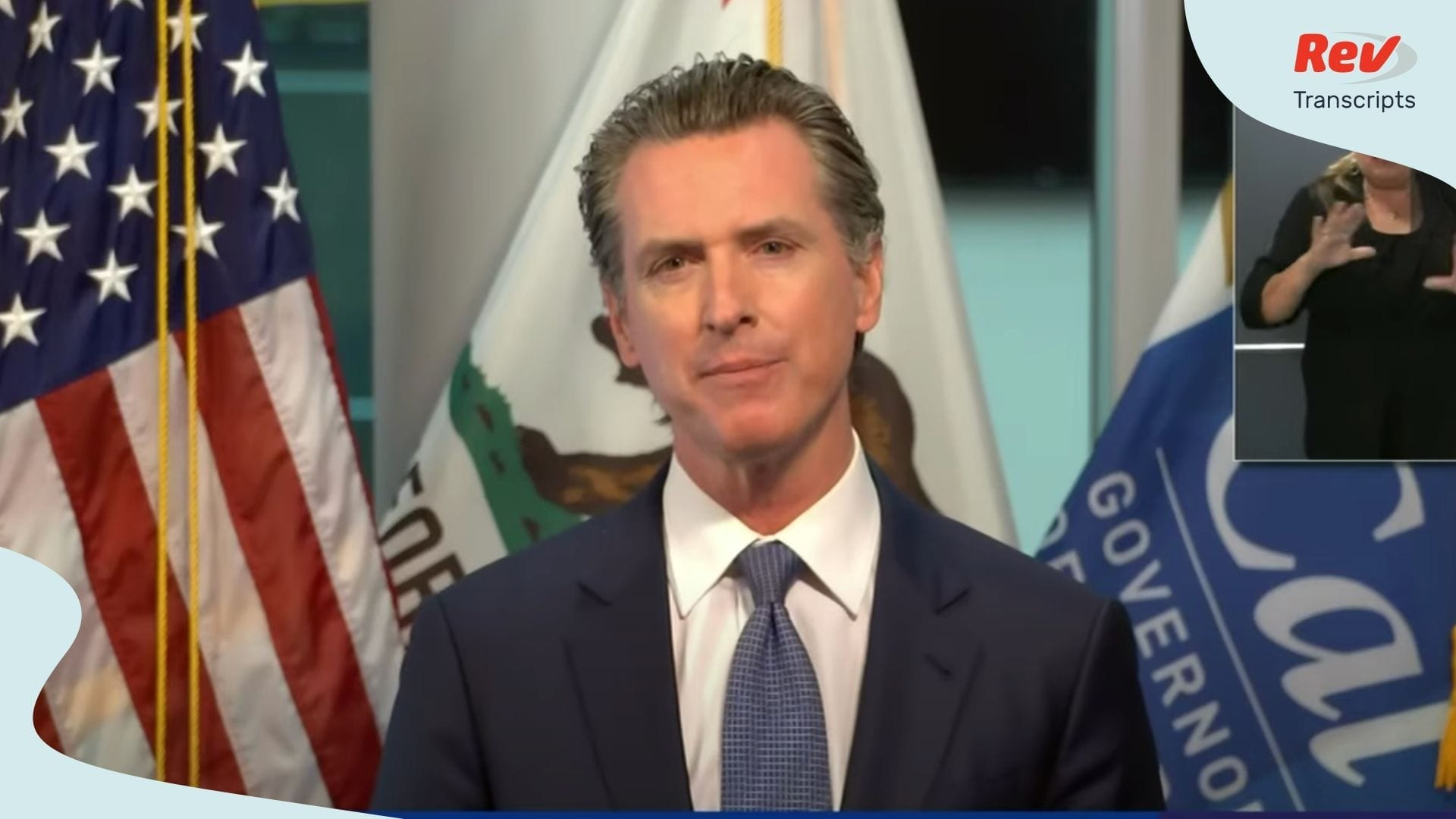Gavin Newsom May 12
