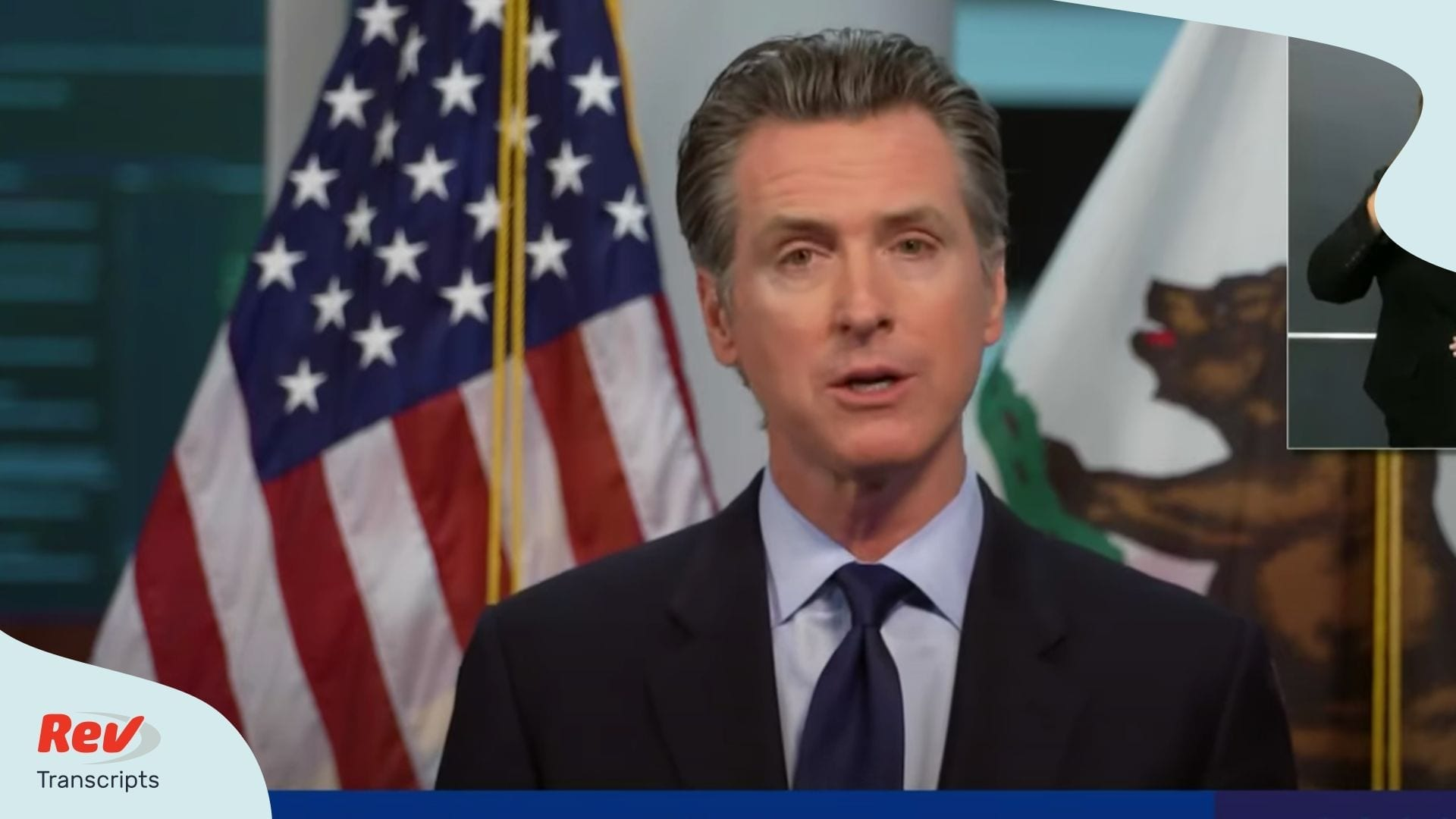 Gavin Newsom Briefing April 16