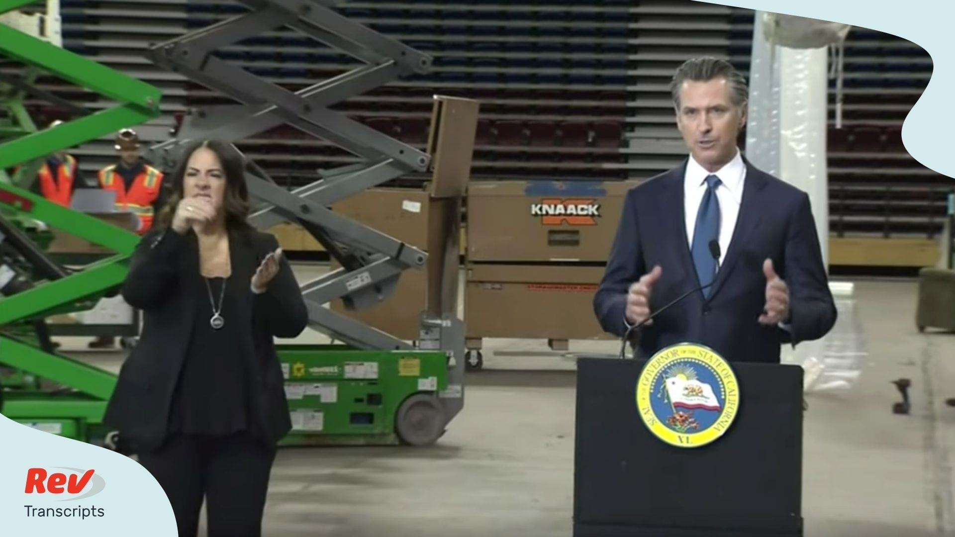 Gavin Newsom California April 6