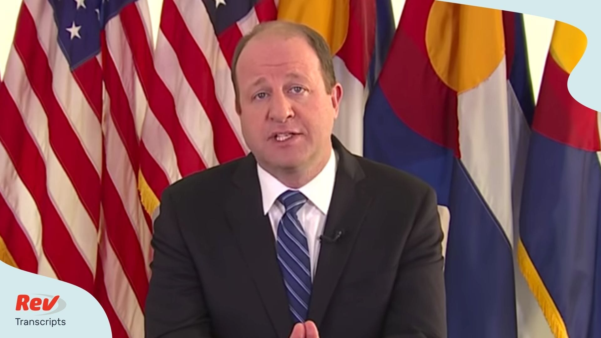 Gov Jared Polis Transcript Briefing April 7
