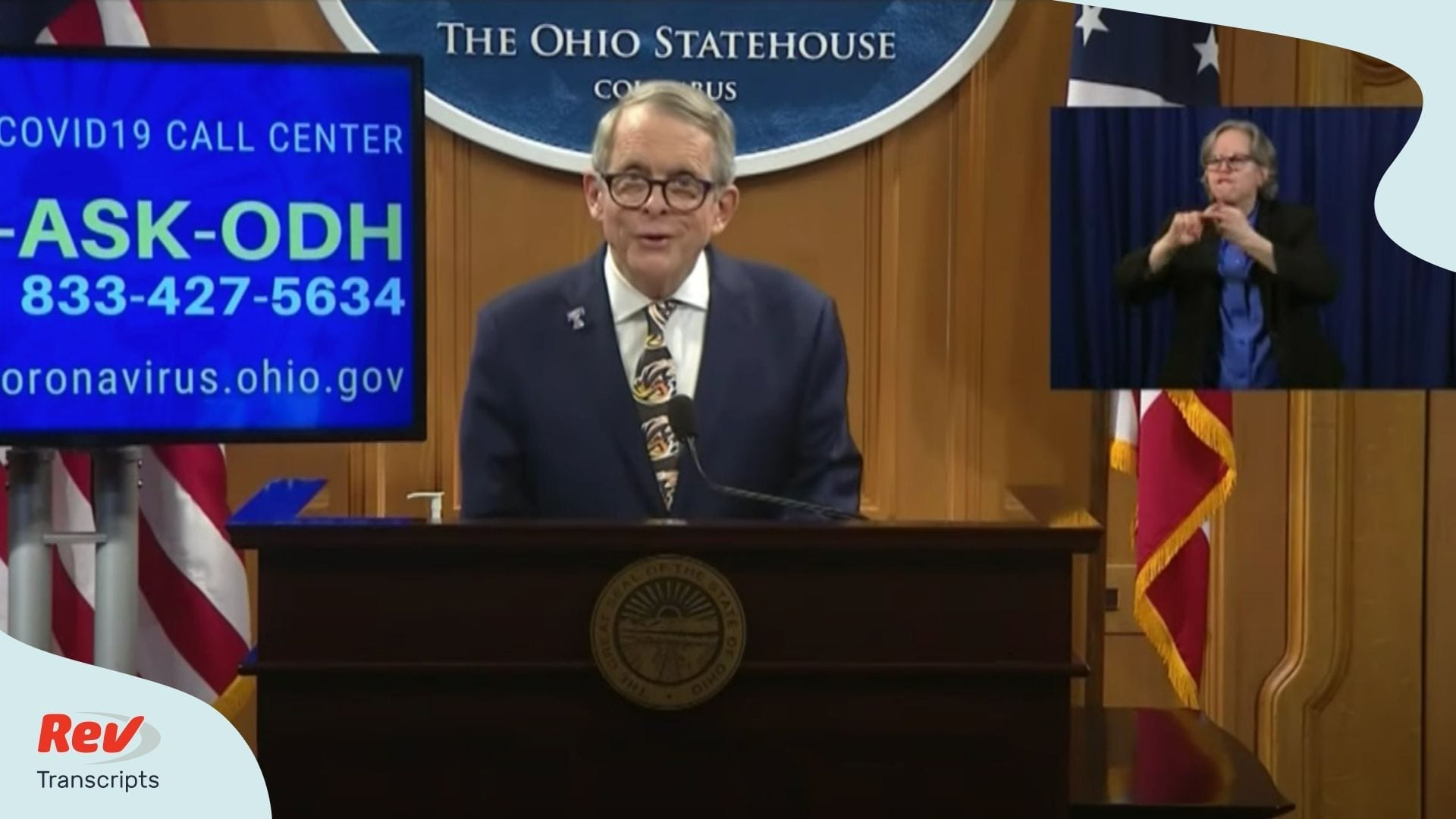 Gov Mike DeWine April 17 Briefing