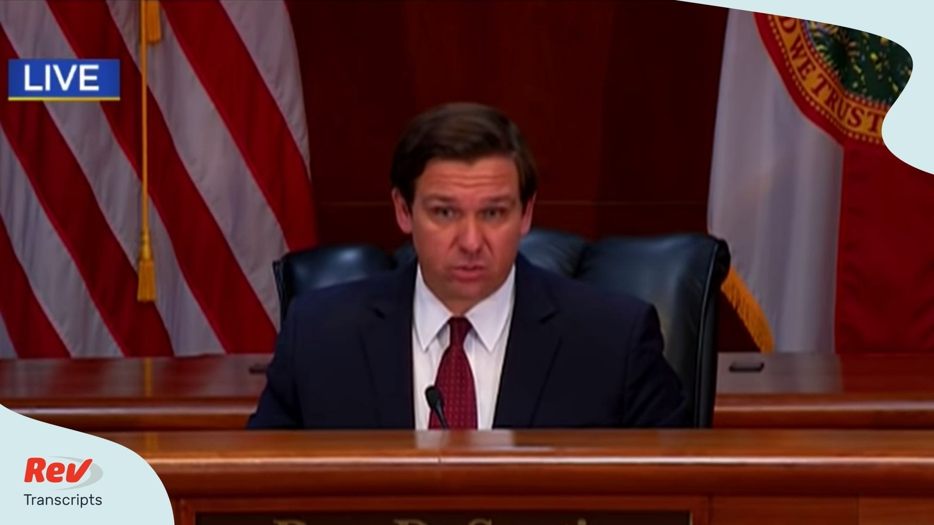 Governor Ron DeSantis Coronavirus Briefing April 13