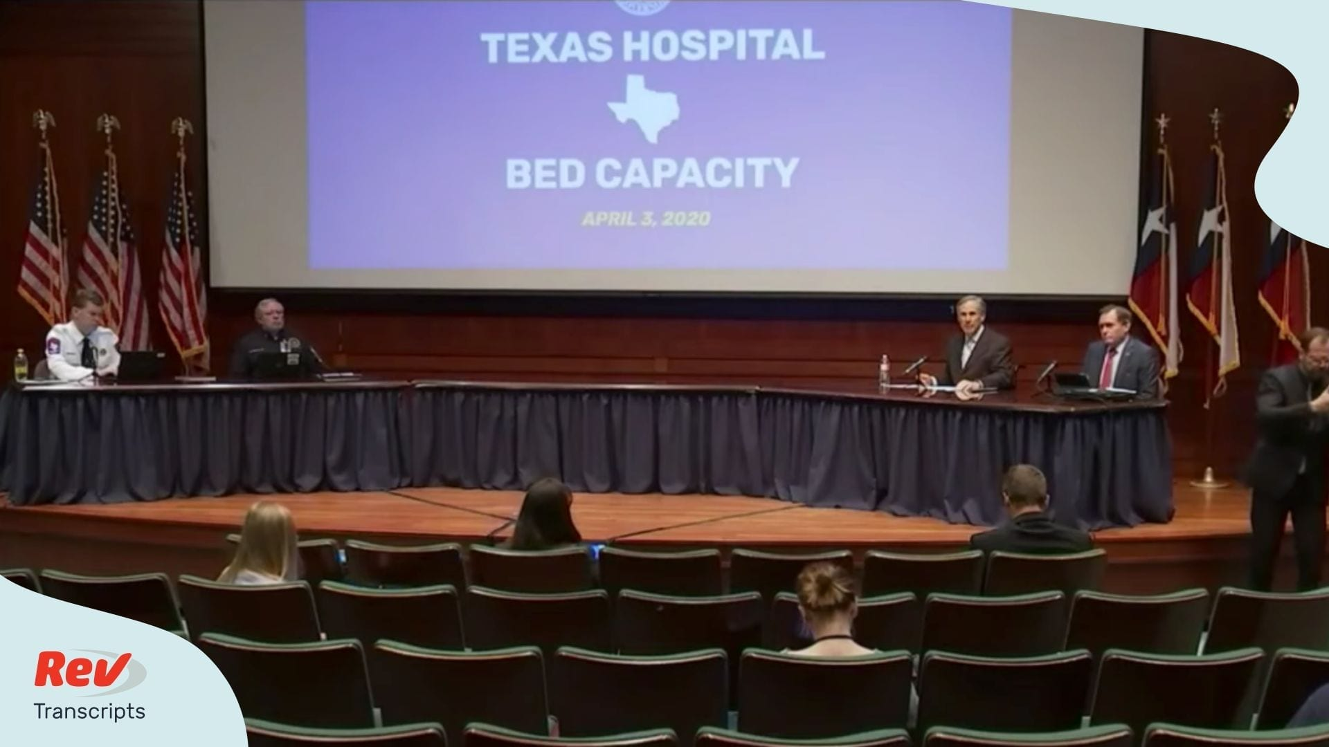 Greg Abbott Texas governor COVID 19 briefing april 3