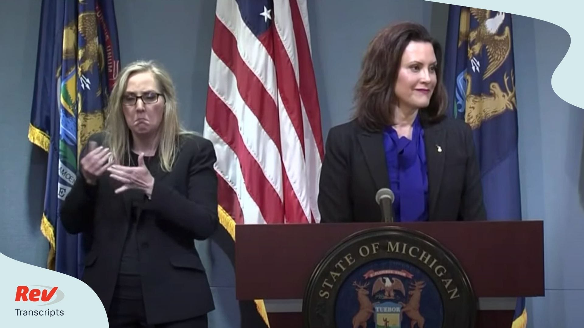 Gretchen Whitmer May 13