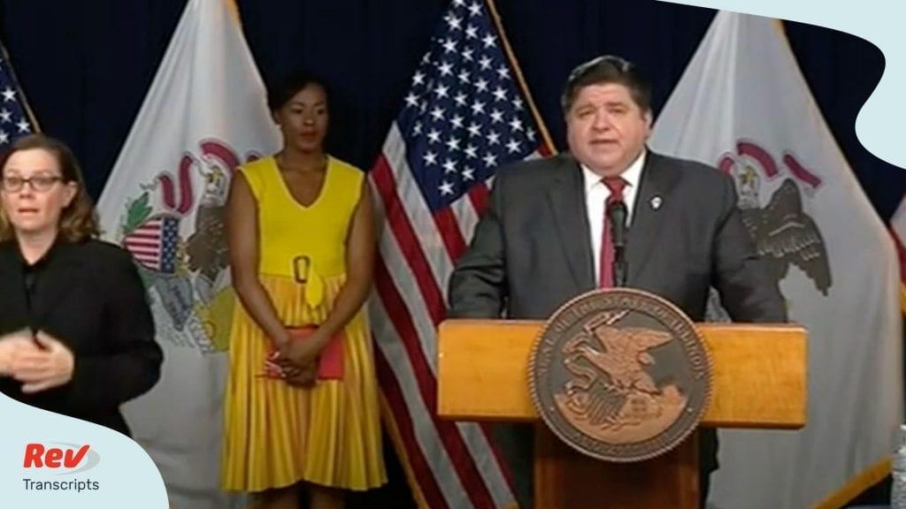 Illinois Governor Briefing April 10