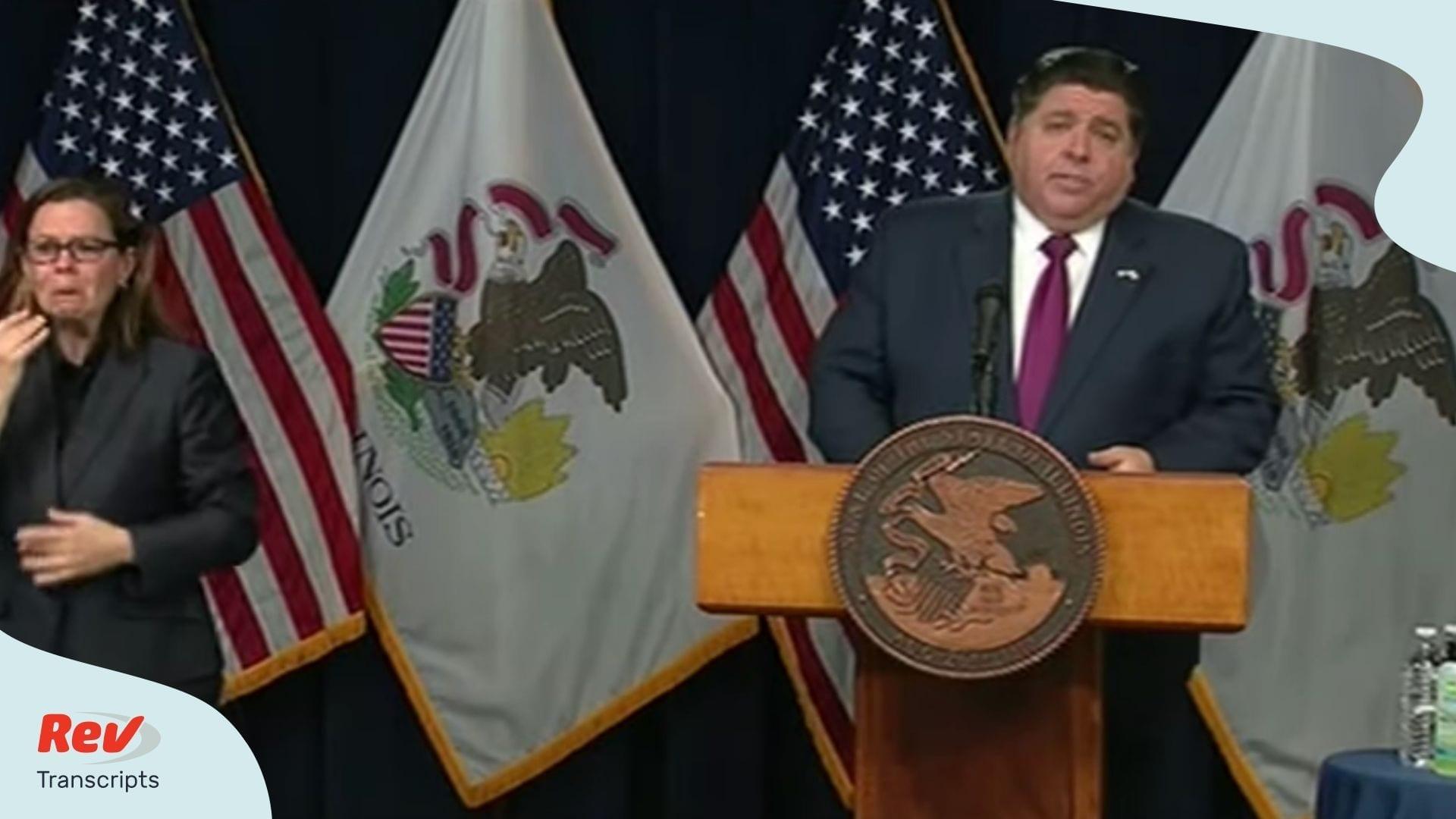 Illinois Governor Coronavirus April 9