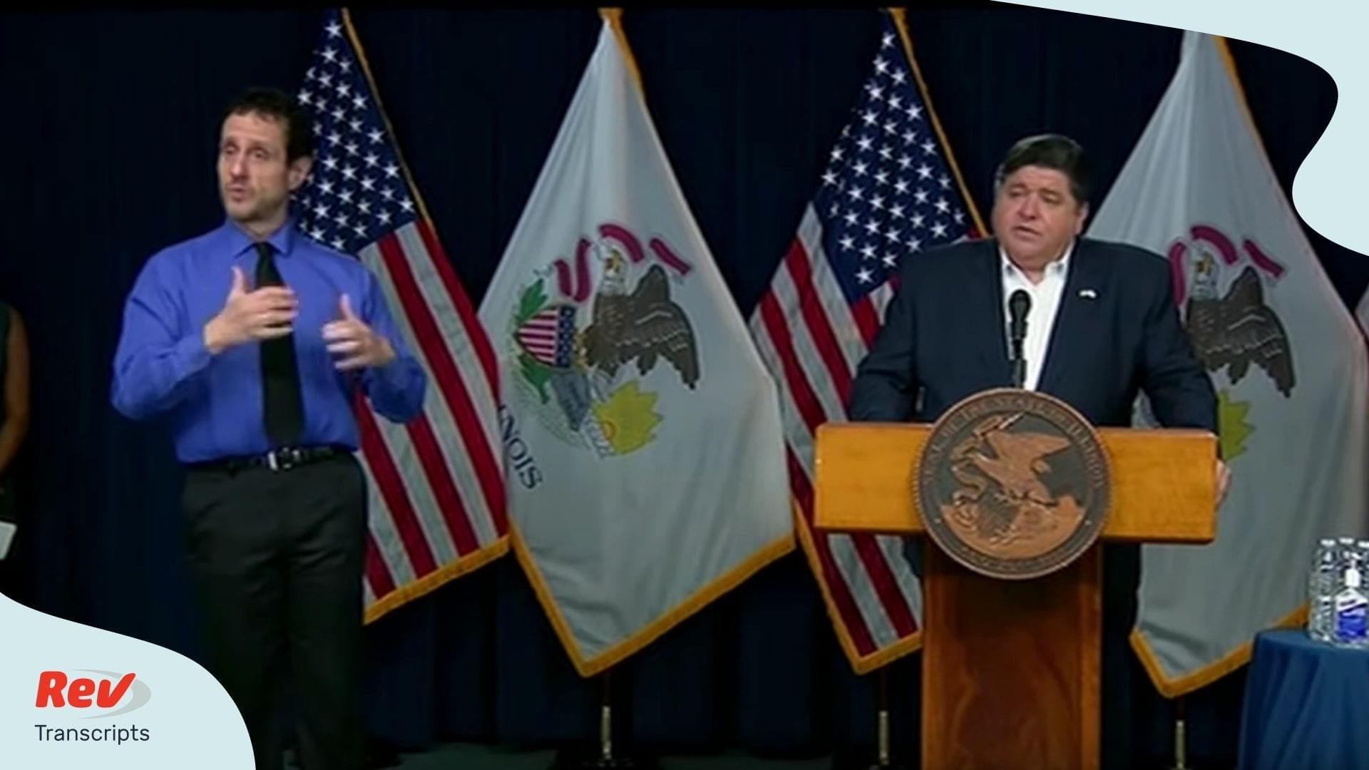 Illinois Governor Press Conference April 1