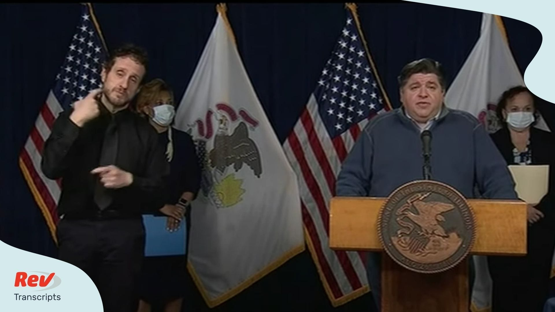 J.B. Pritzker Illinois Briefing April 17
