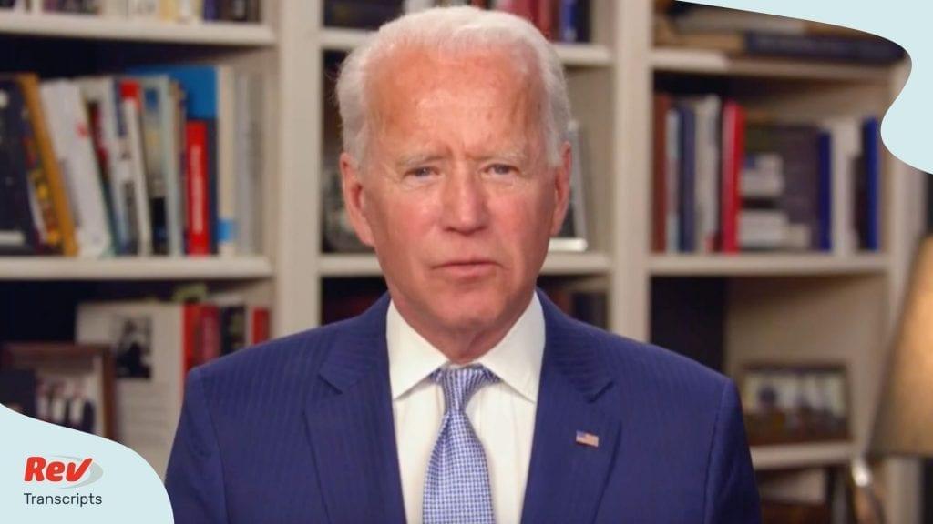 Joe Biden Town Hall April 8