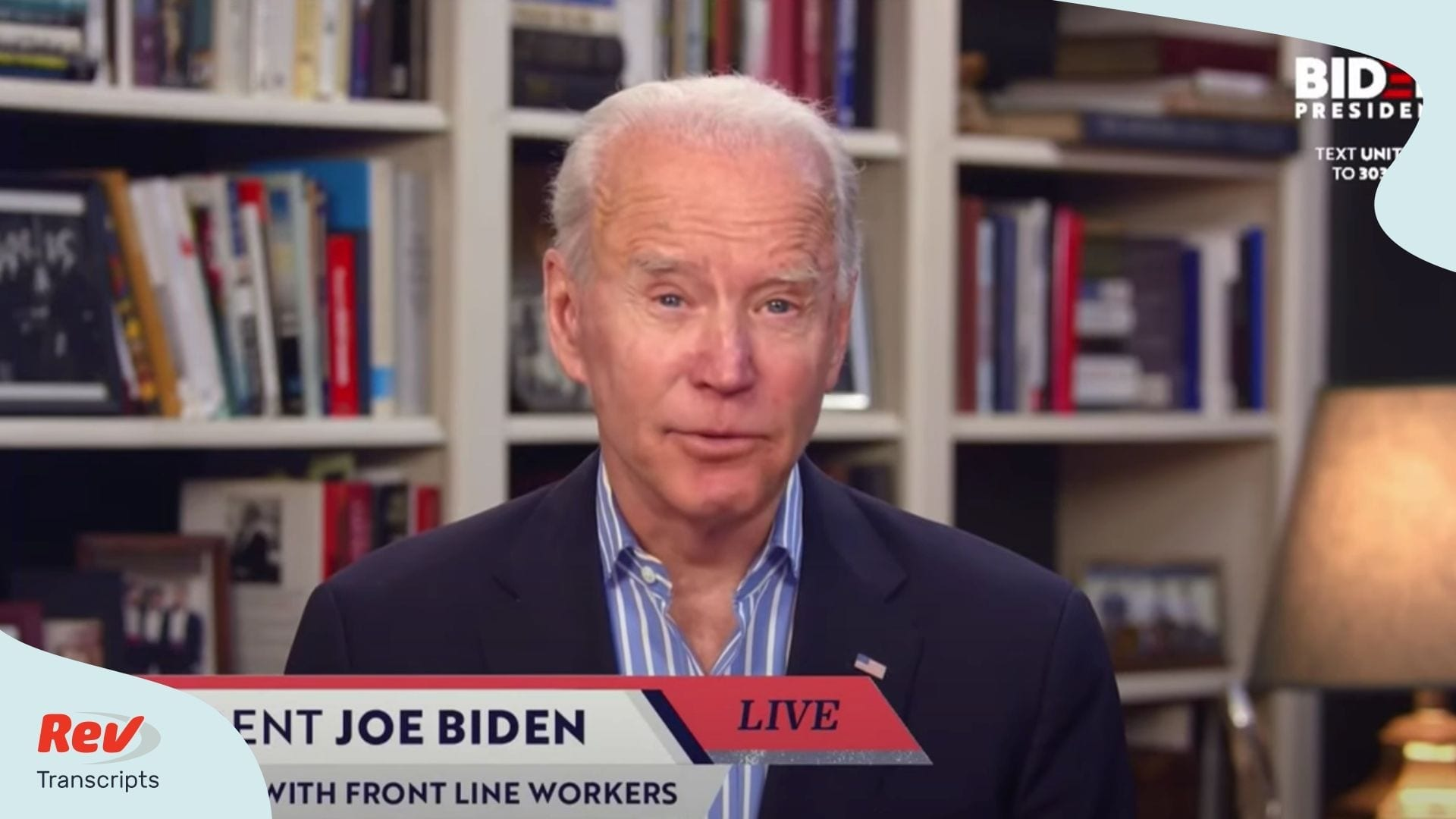 Joe Biden Virtual Town Hall transcript April 15