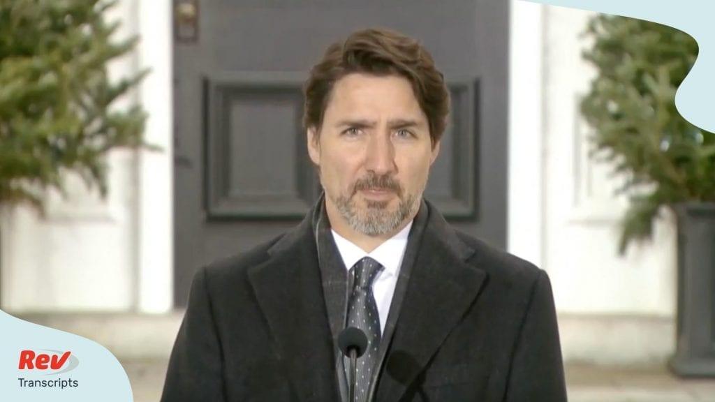 Justin Trudeau April 28 COVID 19