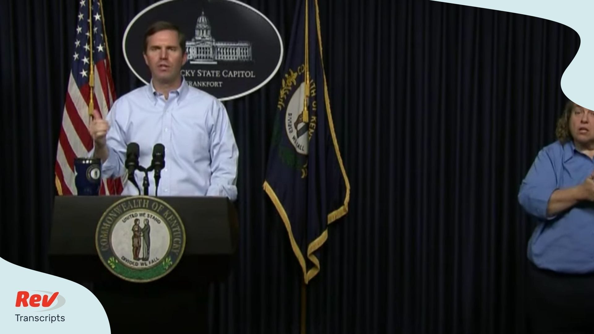 Kentucky Governor COVID-19 Briefing