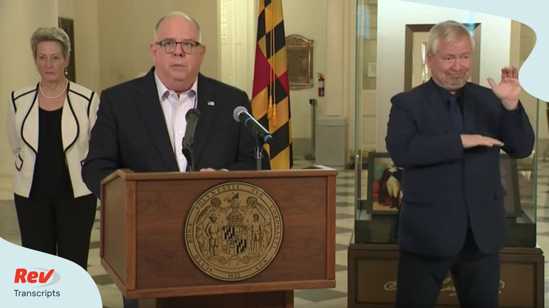 Larry Hogan Maryland Governor Briefing April 3