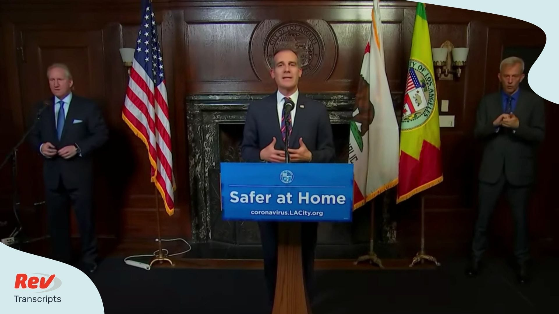 Los Angeles Mayor Press Conference