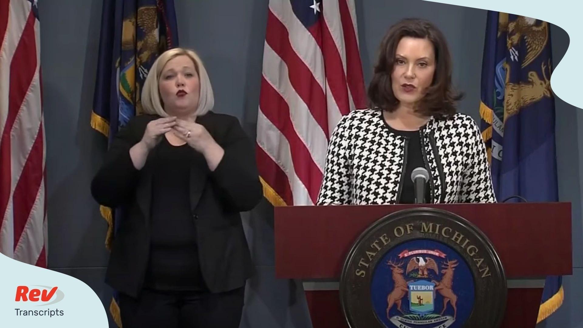 Michigan Briefing Apr 20