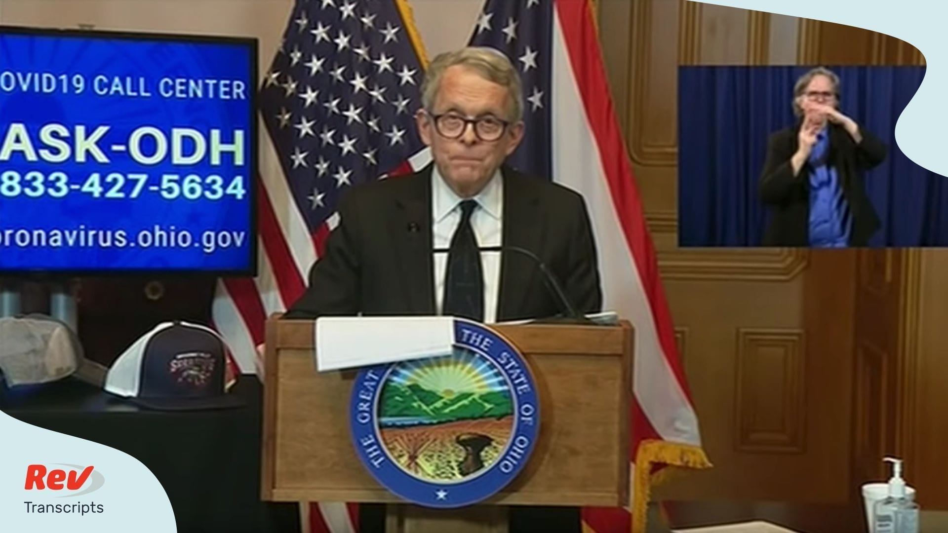 Mike DeWine Ohio Briefing April 9
