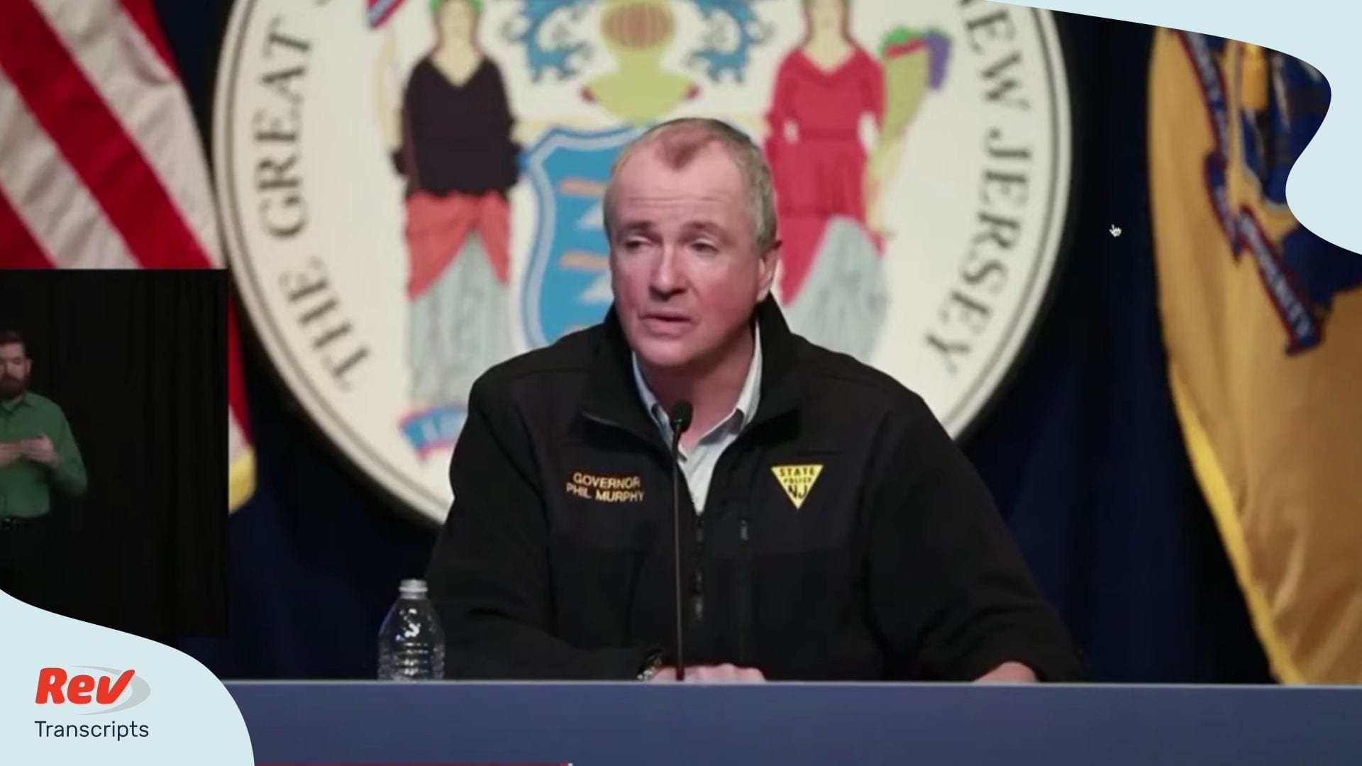 New Jersey Governor April 18 Briefing