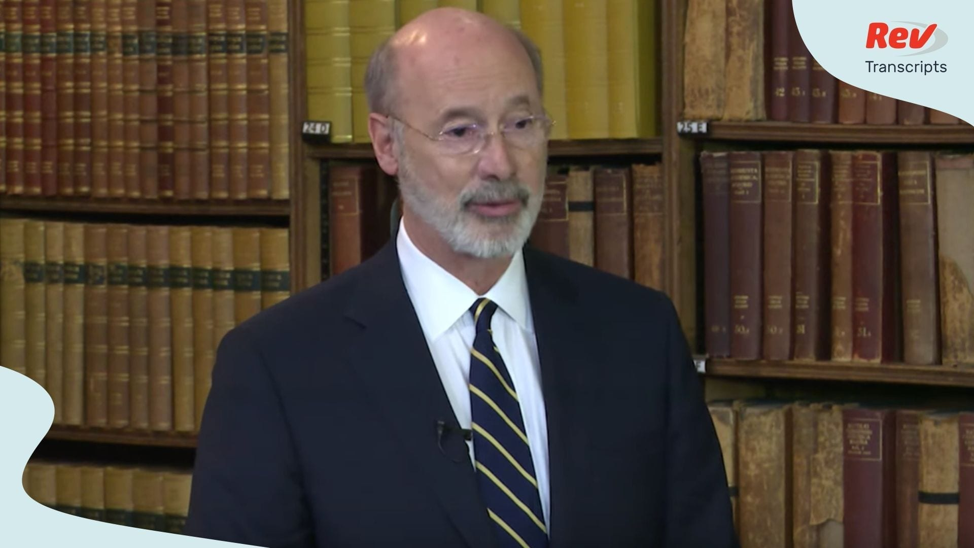 Pennsylvania Governor Transcript April 9