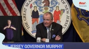 Phil Murphy Press Conference
