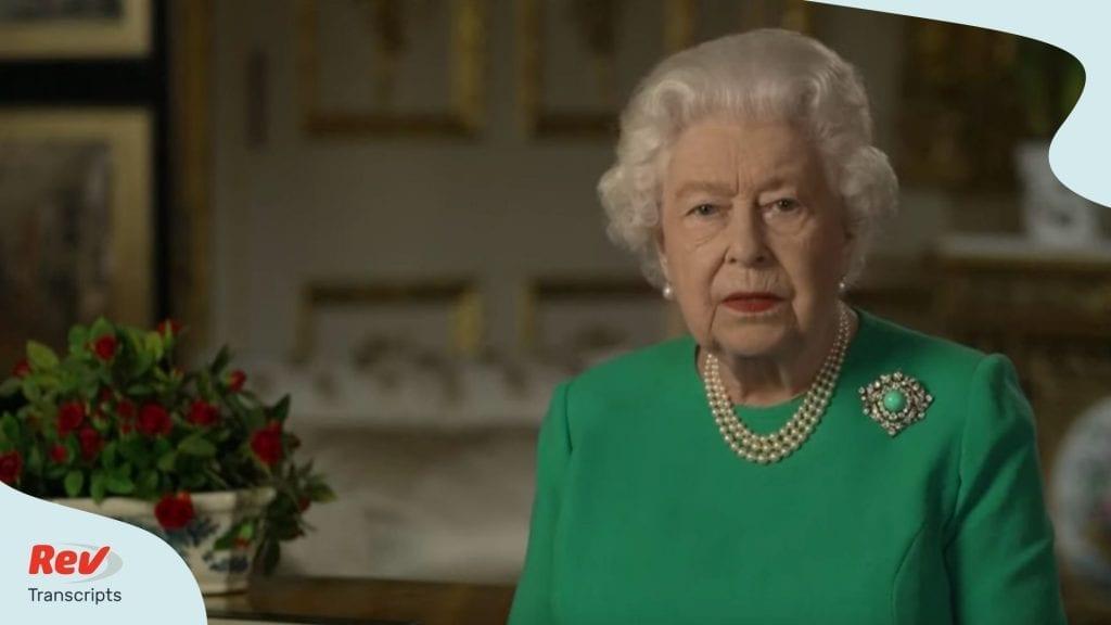 Queen Elizabeth II Coronavirus Speech
