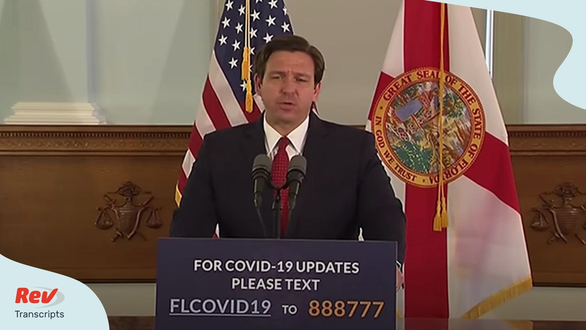 Ron Desantis Florida Briefing April 21