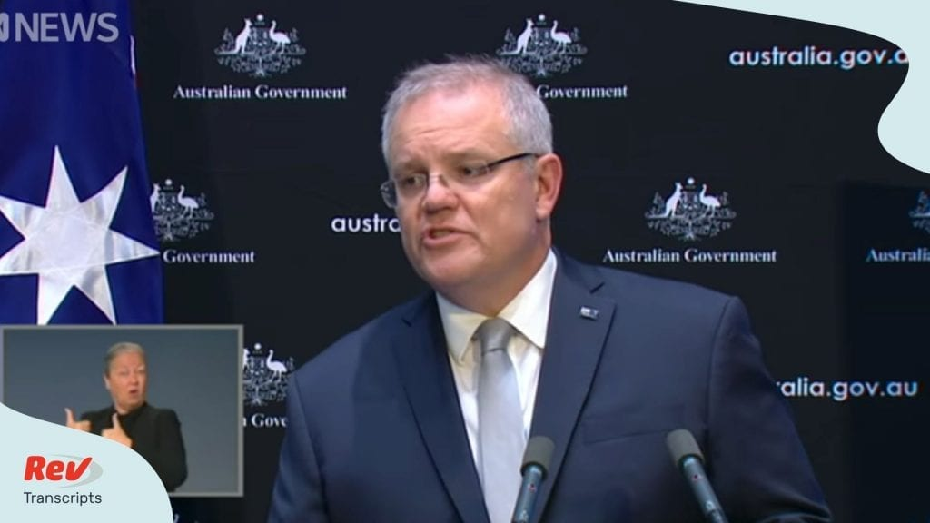 Scott Morrison Briefing April 7