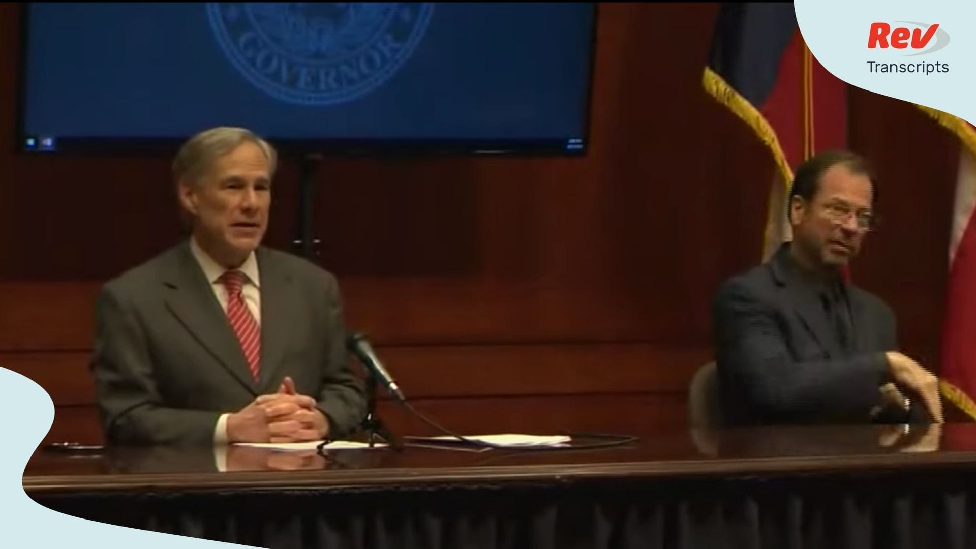 Texas Greg Abbott Briefing April 21