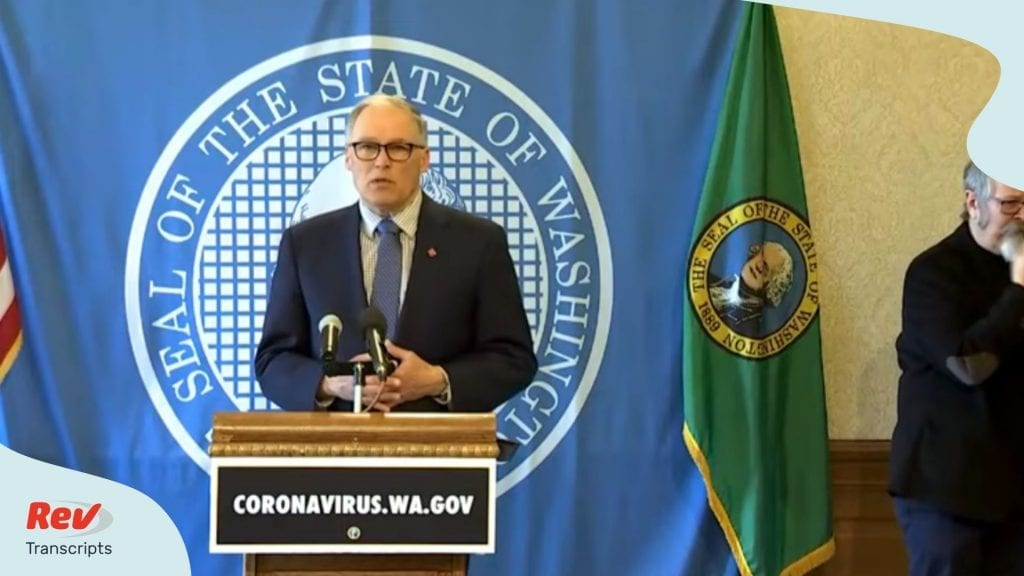 Washington Gov Jay Inslee April 7