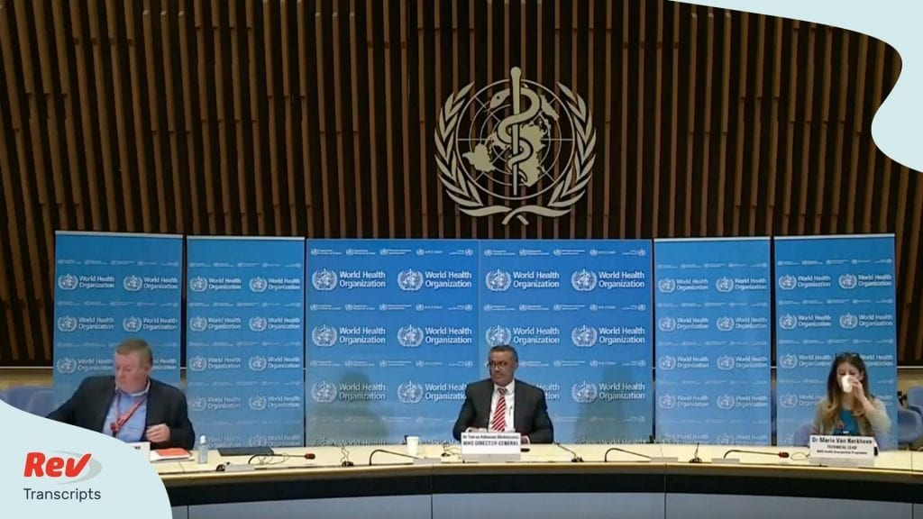 World Health Organization Updates COVID