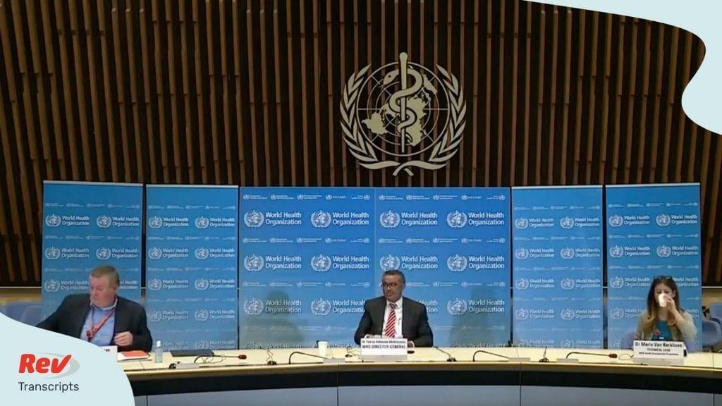 World Health Organization Updates April 8