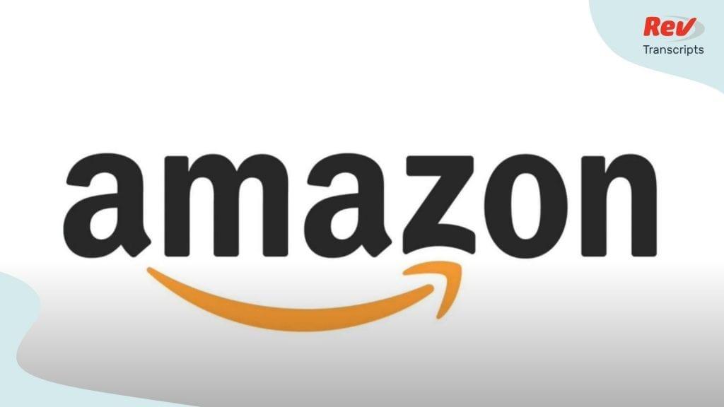 Amazon AMZN Q4 2020 Earnings Call Transcript