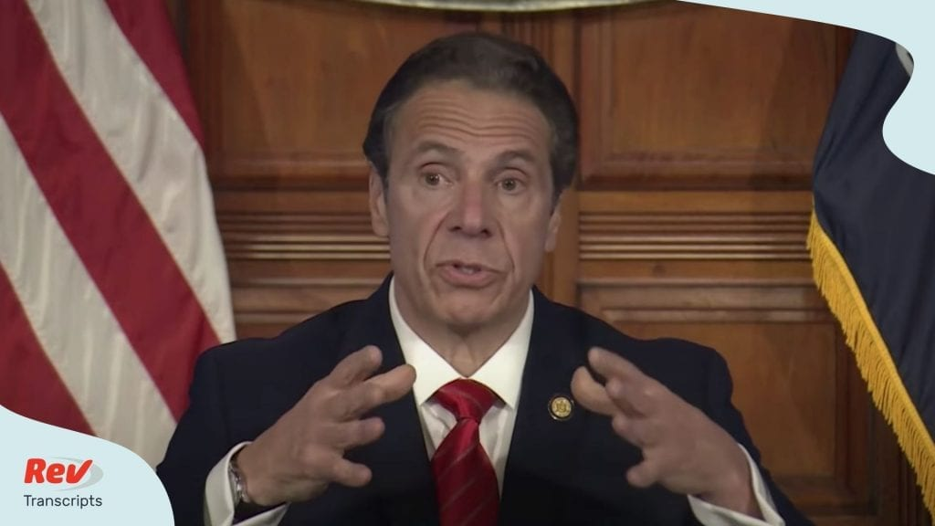 Andrew Cuomo May 1