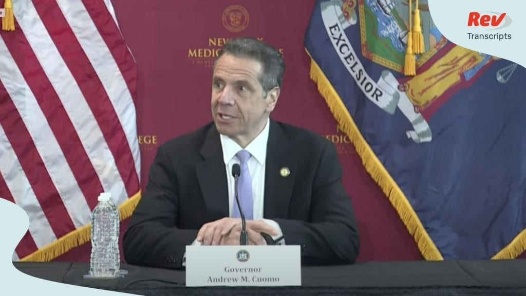 Andrew Cuomo May 29 Press Conference Transcript