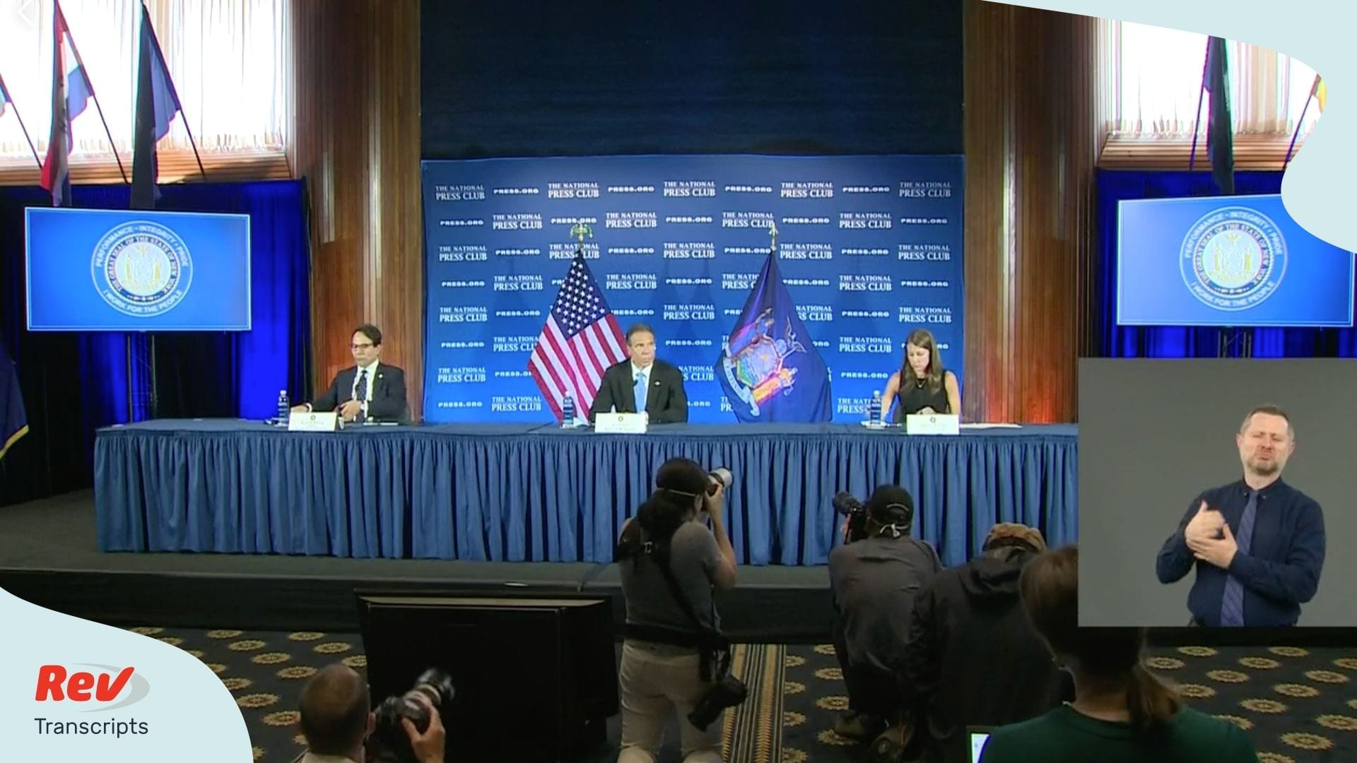 Andrew Cuomo Press Conference May 27