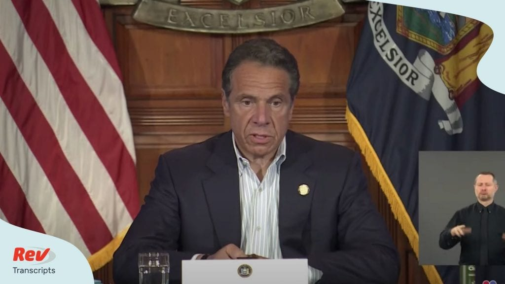 Andrew Cuomo Press Conference Transcript May 31