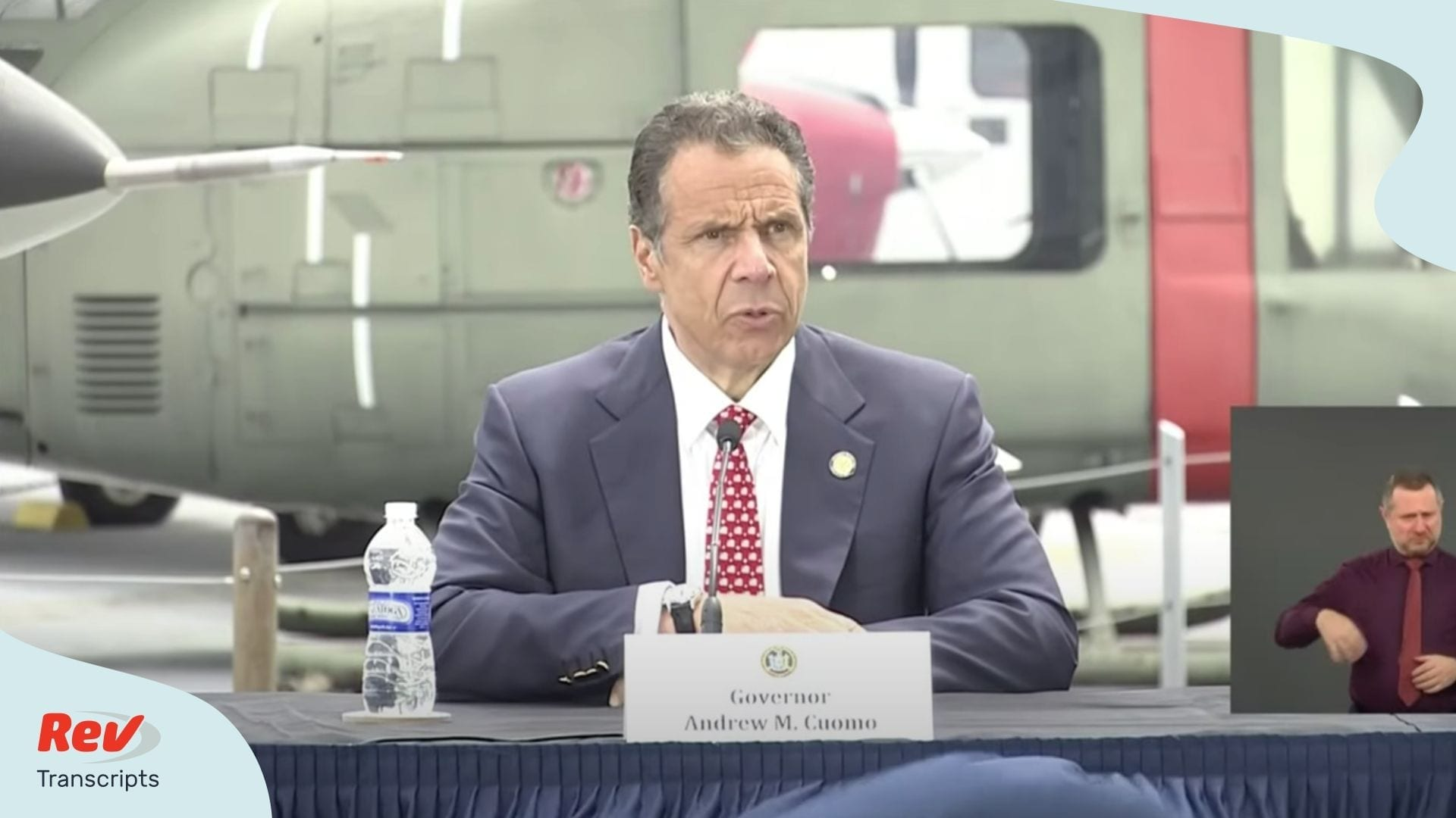 Andrew Cuomo Press Conference Transcript Memorial Day
