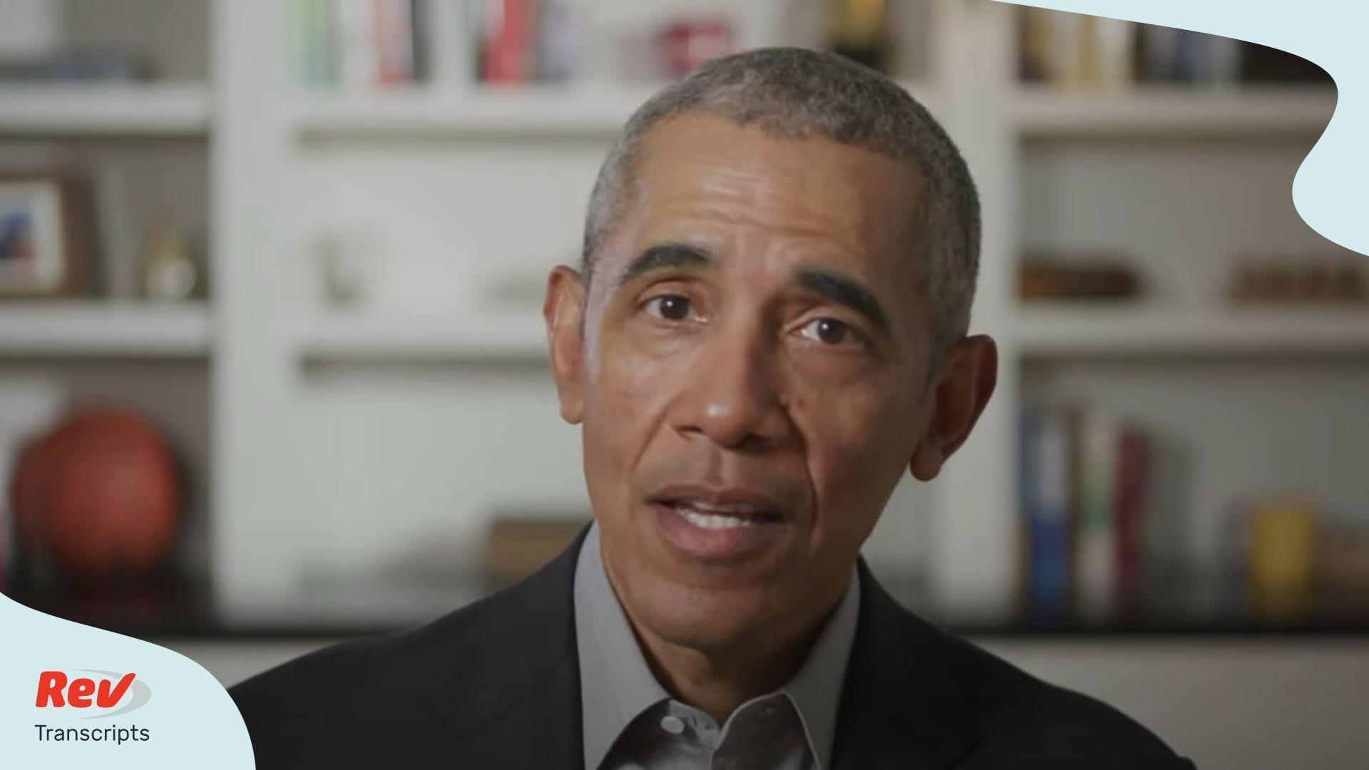 Barack Obama HBCU virtual commencement address