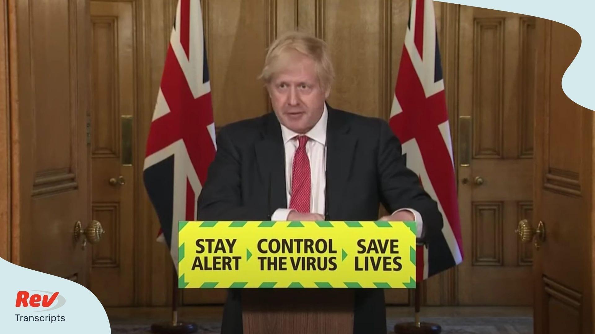 Boris Johnson Press Conference May 11