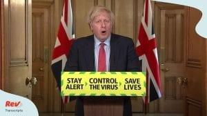 Boris Johnson Press Conference May 28