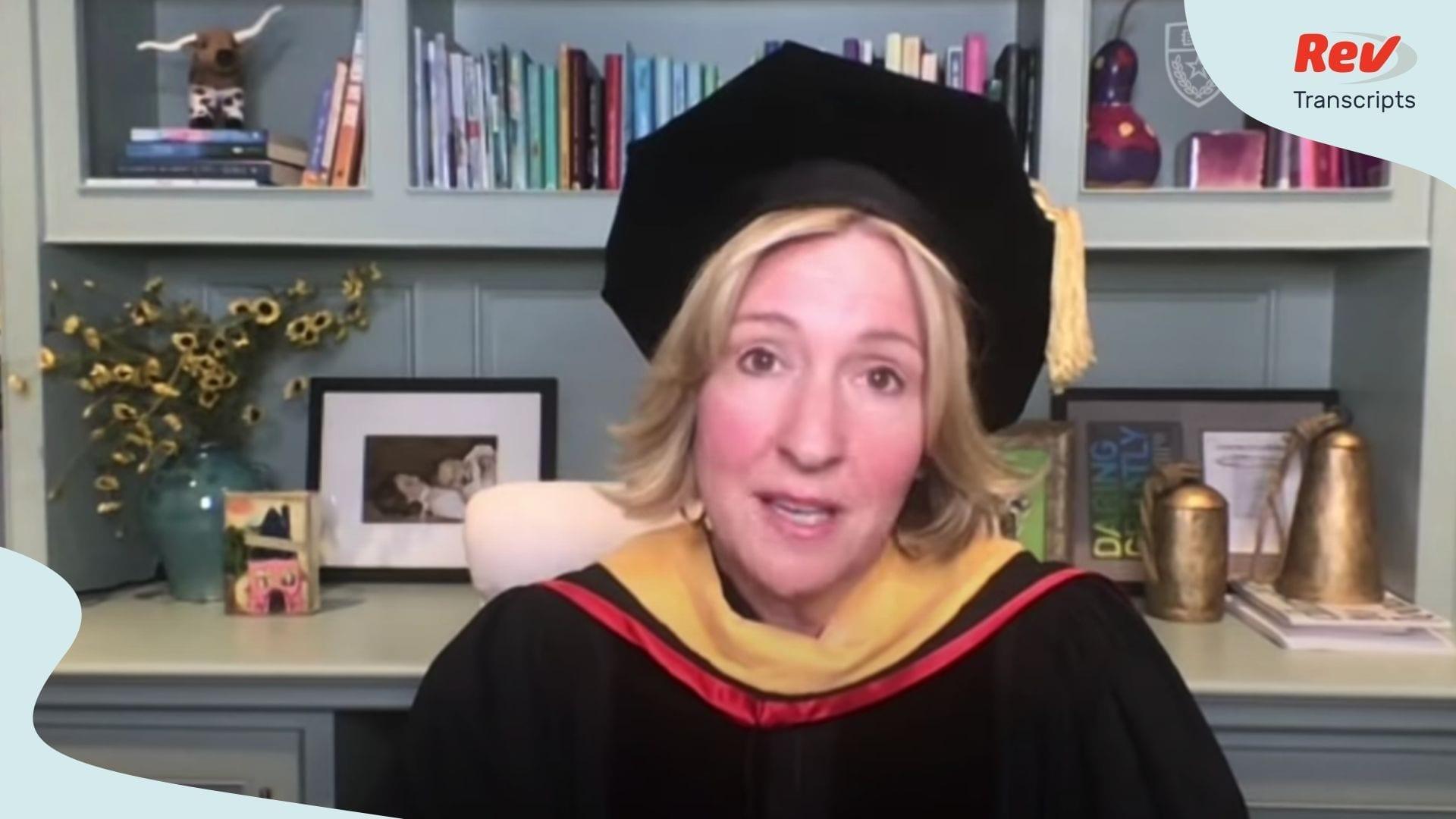 Brené Brown Commencement Speech Transcript UT